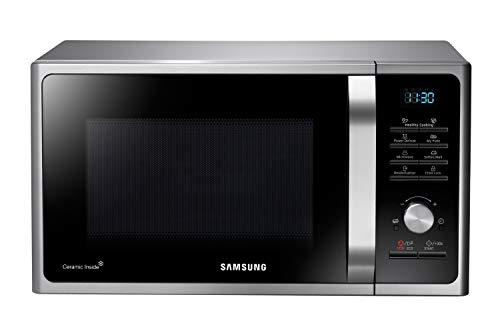 Samsung MS28F303TAS/EG Mikrowelle / 1000 W / 28 L Garraum (Extra groß) / 51,2 cm Breite / Power Defrost...
