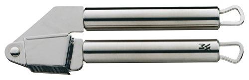 WMF Profi Plus Knoblauchpresse 17,5 cm, Cromargan Edelstahl teilmattiert, spülmaschinengeeignet