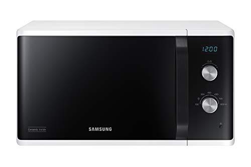 Samsung MW3500 MS23K3614AW/EG Mikrowelle/ 800 W/ 23 L Garraum/ 48, 9 cm breite/Kratzfester...