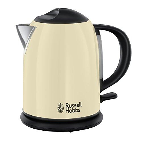 Russell Hobbs Kompakt-Wasserkocher Colours+ Creme, 1,0l, 2200W, Schnellkochfunktion, optimierte...