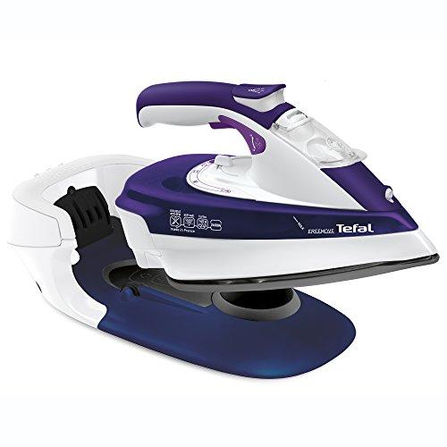 Tefal FV9962 Kabelloses Dampfbügeleisen Freemove, violett/Weiß