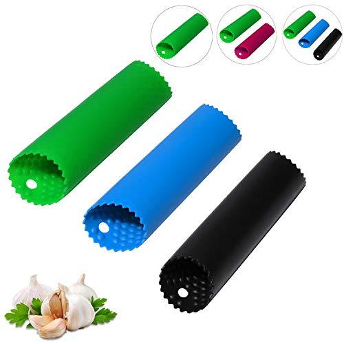 Silikon Knoblauchschäler-Knoblauch Schäler Rolle-Easy Roller Knoblauchroller Küchenwerkzeug für...