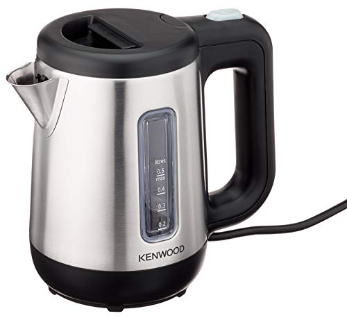 Kenwood 0WJKM07602 Mini- Wasserkocher (670-800 Watt / 0,5 Liter / Edelstahl) silber