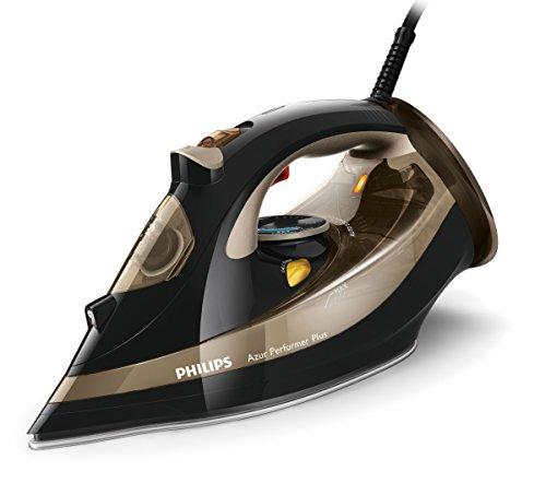 Philips GC4527/00 Dampfbügeleisen Azur Performer Plus (2600 W, 220g Dampfstoß, T-Ionic-Glide...