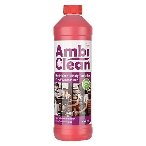 AmbiClean® Universal-Entkalker für Kaffeevollautomaten, Wasserkocher, Bügeleisen, etc. | Mit allen...