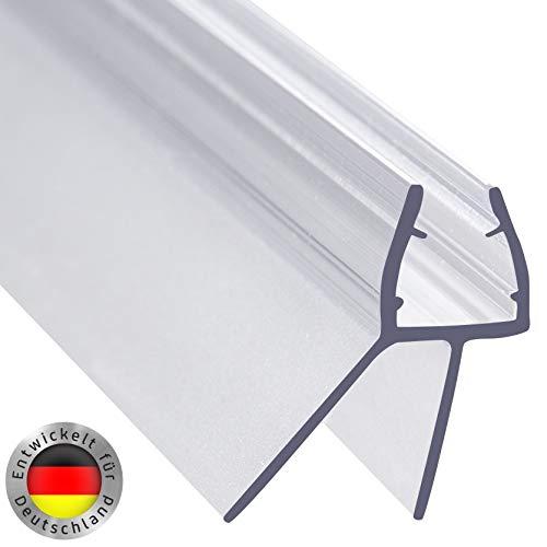 AULETT Premium 100 cm Duschdichtung - Duschtür und Duschkabinen Dichtung für 6mm, 7mm und 8mm Dusche...