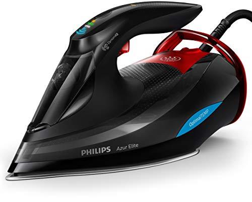 Philips Dampfbügeleisen Azur Elite GC5037/80 (3000 W, 260g Dampfstoß, OptimalTEMP, intelligentes Quick...