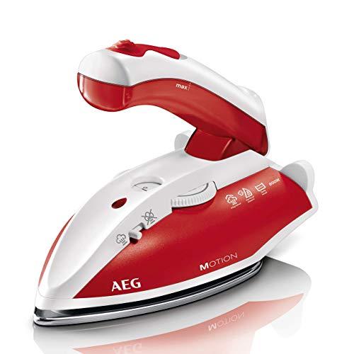 AEG DBT 800 Reise-Dampfbügeleisen (Variabler und kontinuierlicher Dampf, ergonomischer Klappgriff, inkl....
