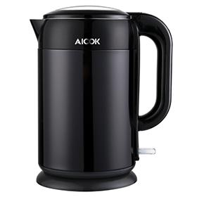 Aicok black 2200W Edelstahl Wasserkocher