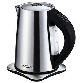 Aicok 2200W Wasserkocher mit Temperatureinstellung