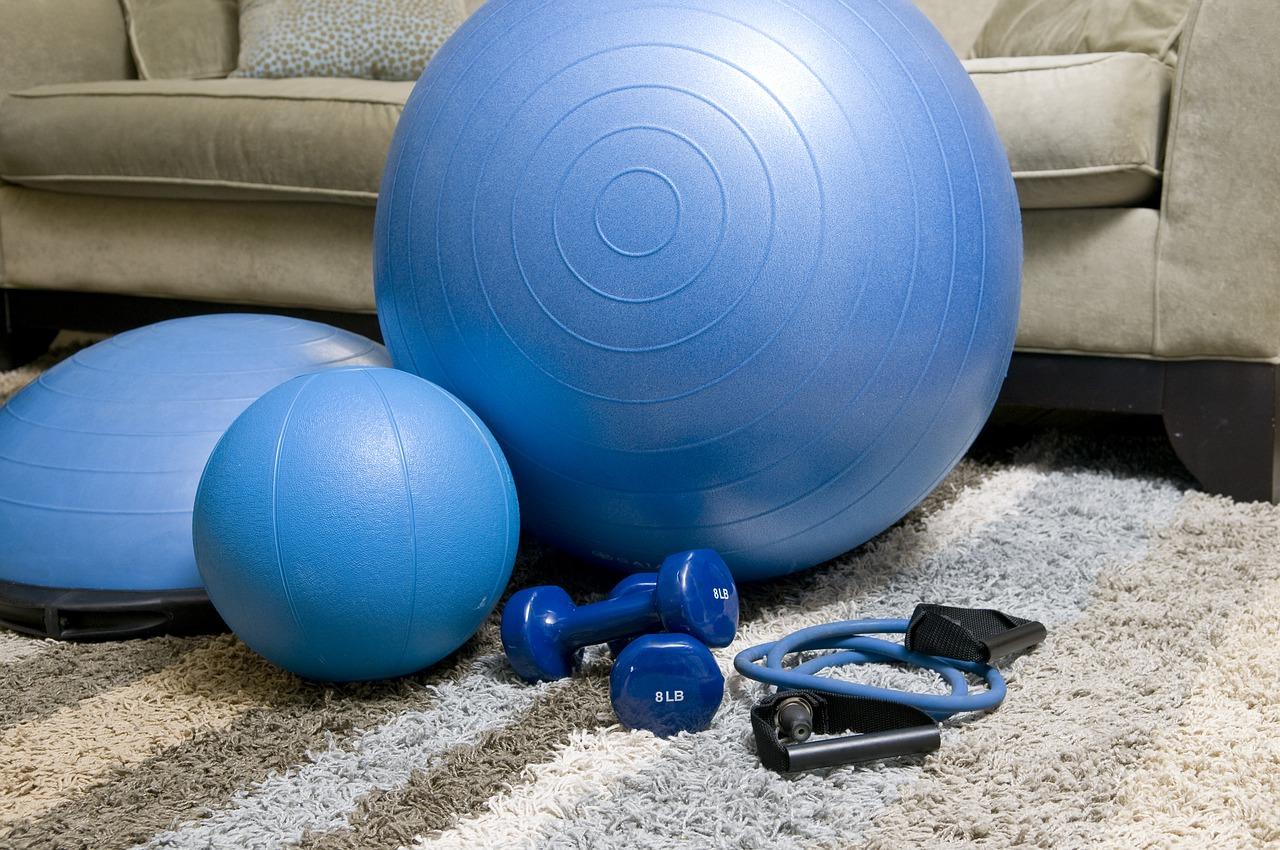 zuhause fit werden