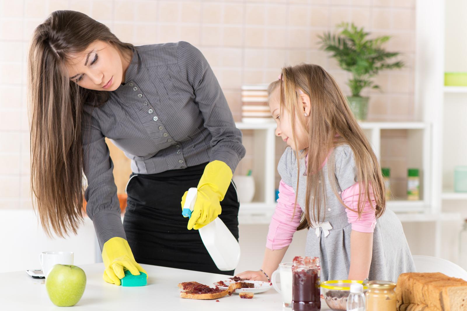 Küche entrümpeln